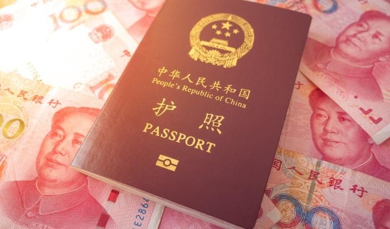 پاسپورت و پول چینی