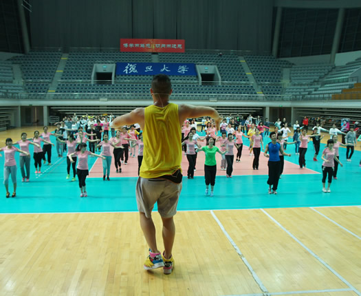 سالن ورزشی دانشگاه فودان
