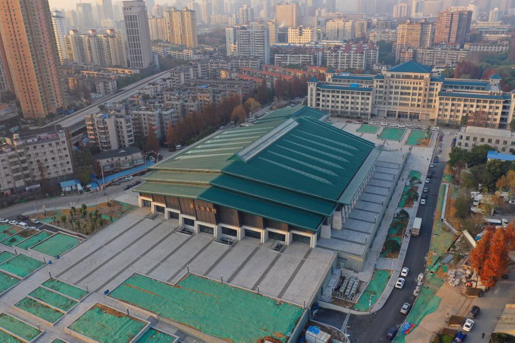 ورزشگاه دانشگاه ووهان چین