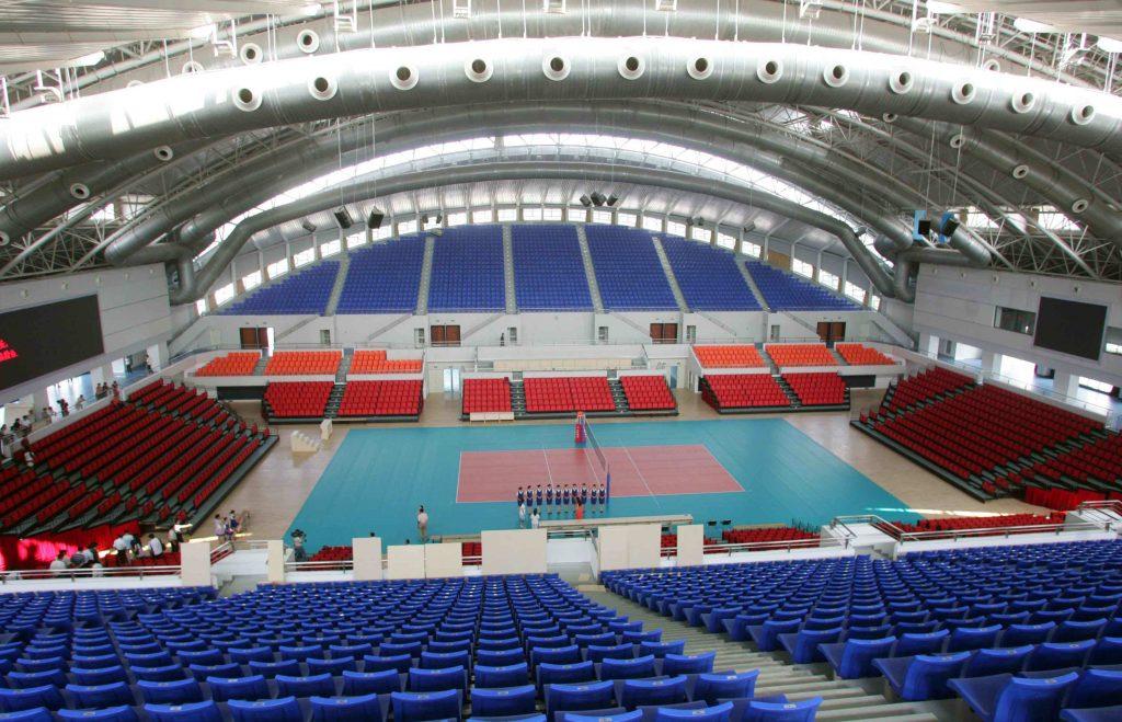 سالن ورزشی دانشگاه هواجونگ چین