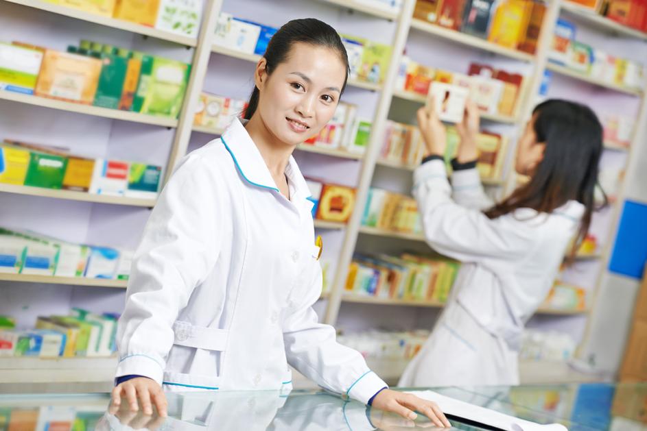 رشته داروسازی در کشور چین