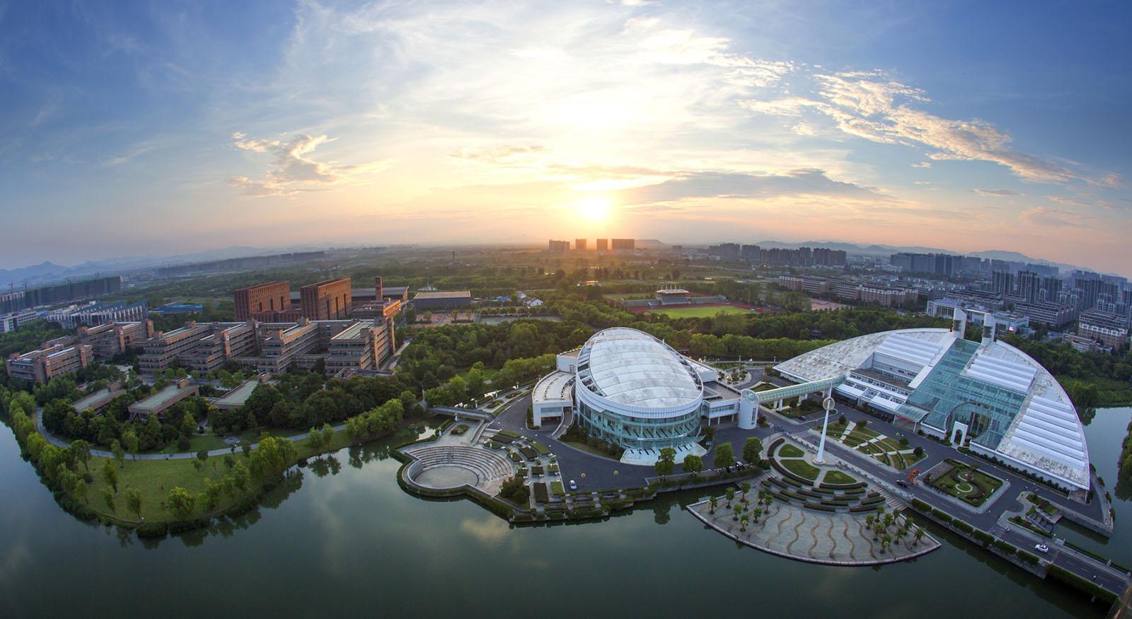 محوطه دانشگاه ژجیانگ چین